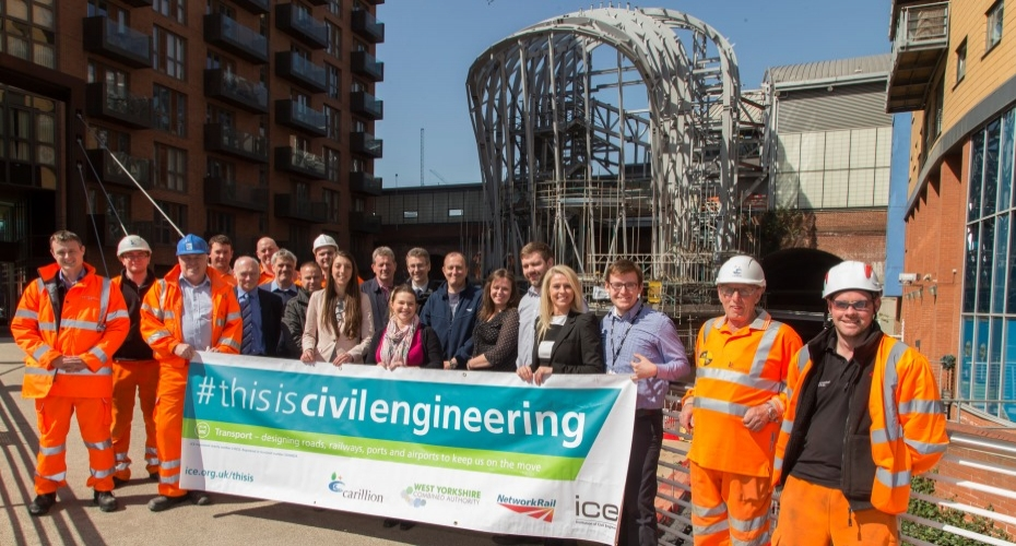 Major Yorkshire infrastructure project nominated for national award