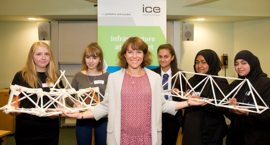 Yorkshire Schools Build Bridges for Women in Engineering