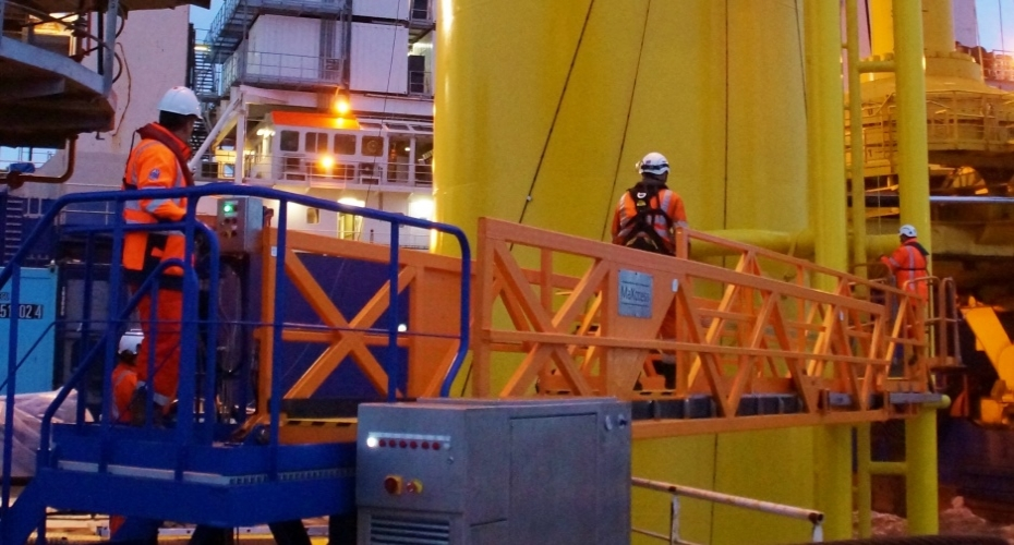 Osbit delivers bespoke offshore access system to Van Oord