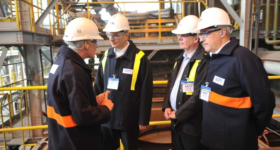 thyssenkrupp pays visit to Materials Processing Institute