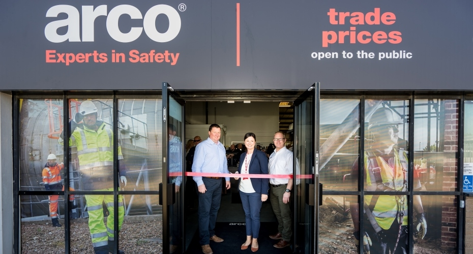 Arco Unveils New Safety Centre in Cumbria