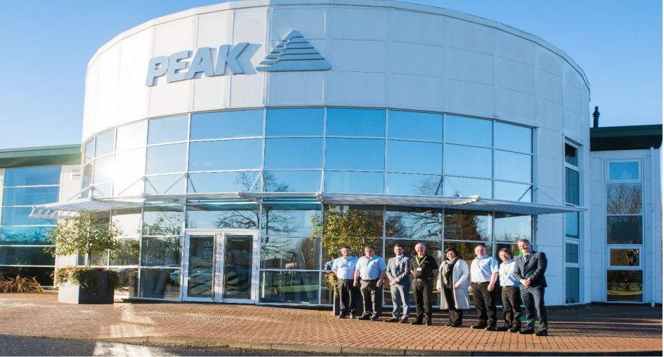 ​Peak Scientific Announce Research and Development Expansion into Inverclyde