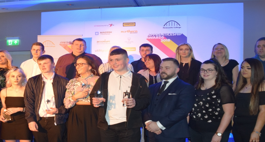 Northumbrian Water's TWS wins top accolade at apprenticeship awards