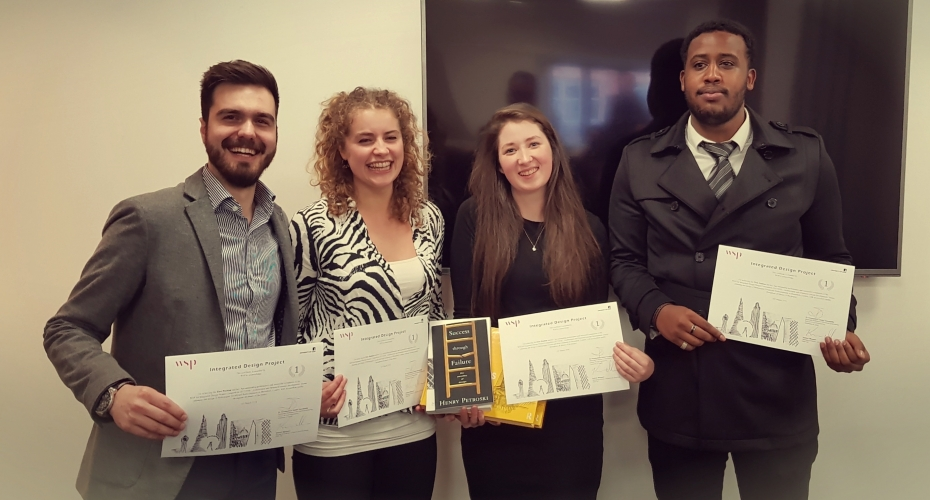 ​University of Leeds students win WSP design competition