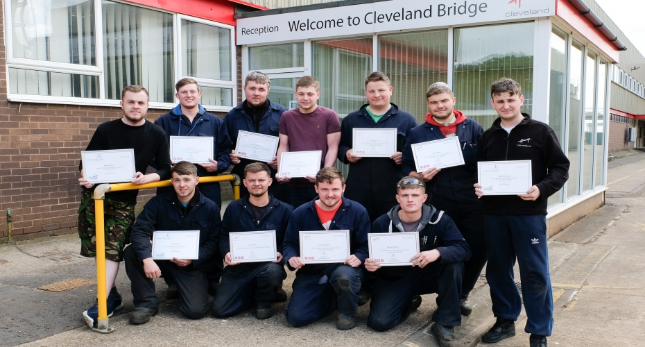 APPRENTICE SUCCESS AT CLEVELAND BRIDGE