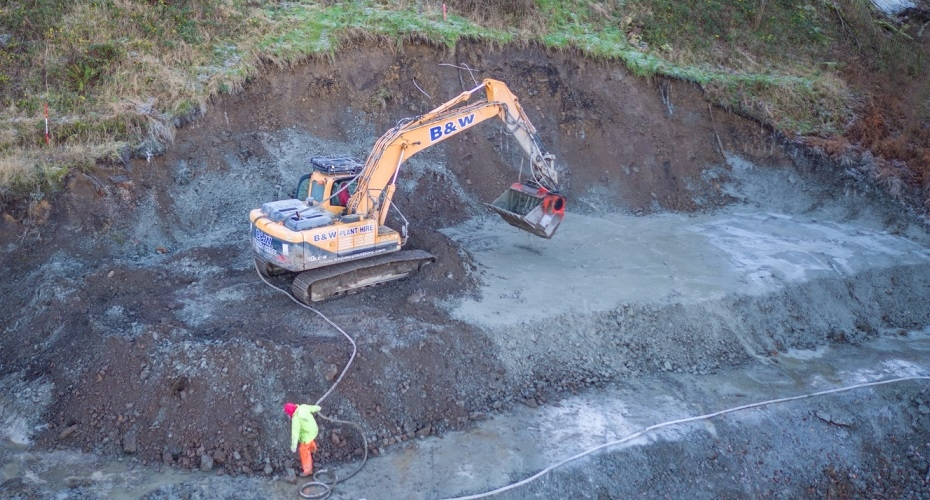 ​Deep Soil Mixing For West Yorkshire Slope Stabilisation Project