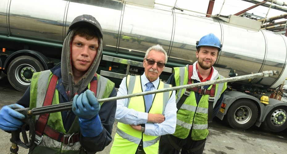 Apprentices clean up career progression at Olympic Tankwash