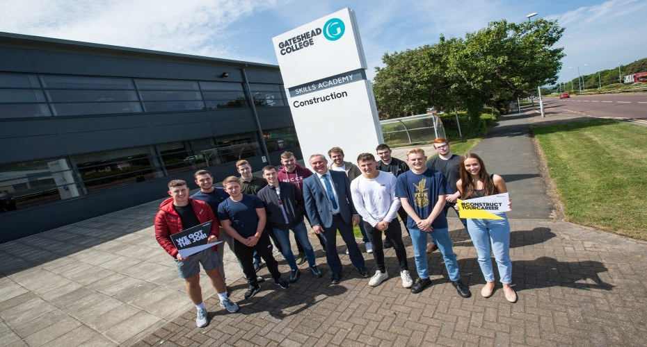 Construction Scheme Extended after First Students Graduate