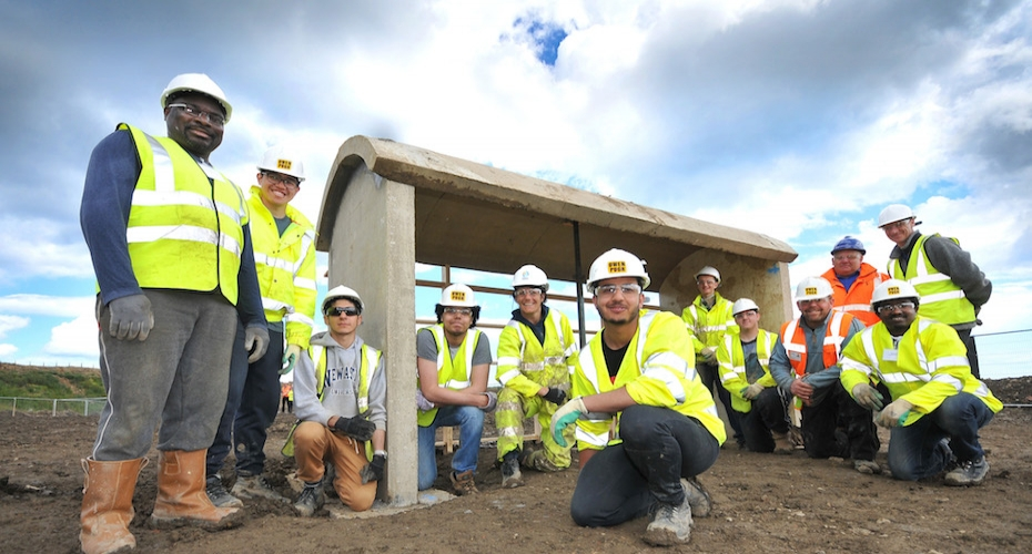 Future Civil Engineers Prove their worth at Constructionarium North East