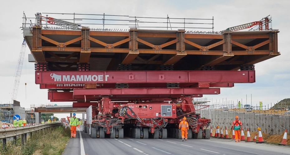 CLEVELAND BRIDGE UK INSTALLS TWO BRIDGES IN 11 JUST 11 HOURS