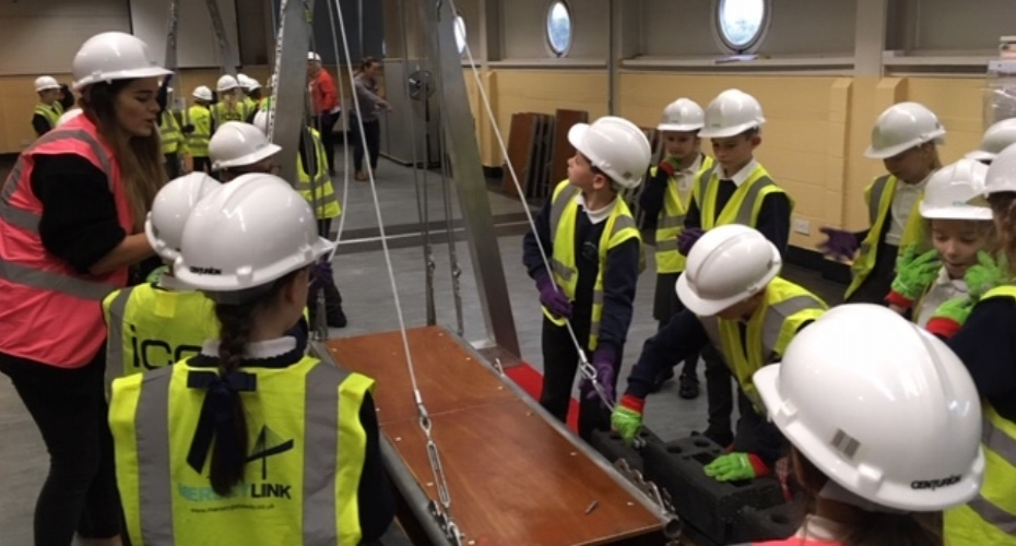Budding civil engineers build their skills at ICE North West event