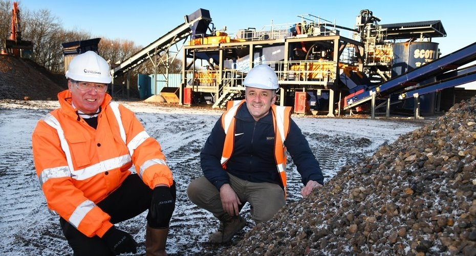 Scott Bros. invests £1m in 'urban quarry' wash plant