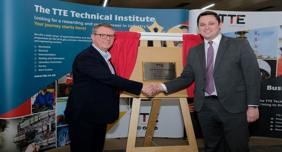 TTE becomes a Technical Institute to increase export opportunities and benefit the training of young people in Tees Valley