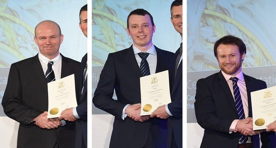 Engineers achieve professional award