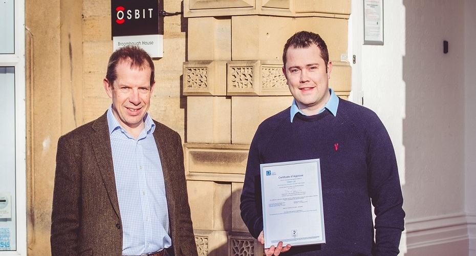Osbit achieves ISO 45001 certification less than a year after its publication