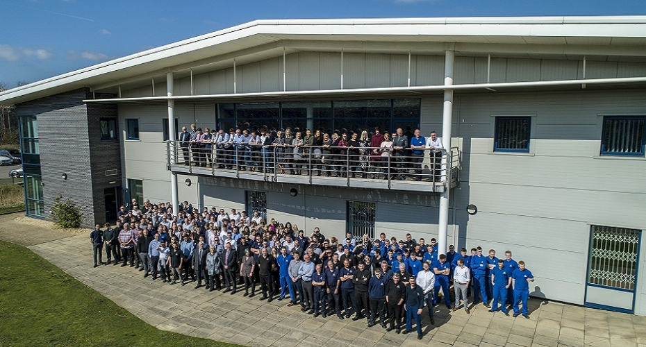 Rotherham-based engineering firm celebrates continued growth and innovation