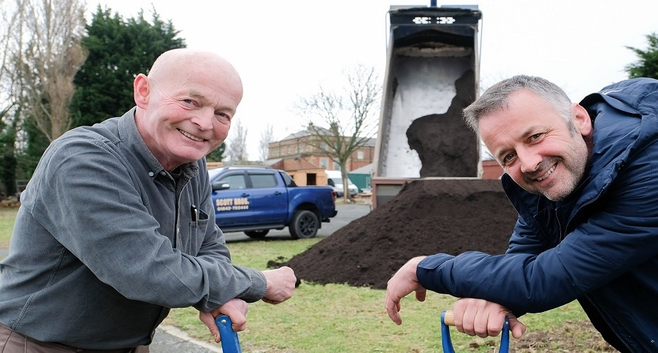 ​Scott Bros. makes soil donation to kick-start community horticulture project