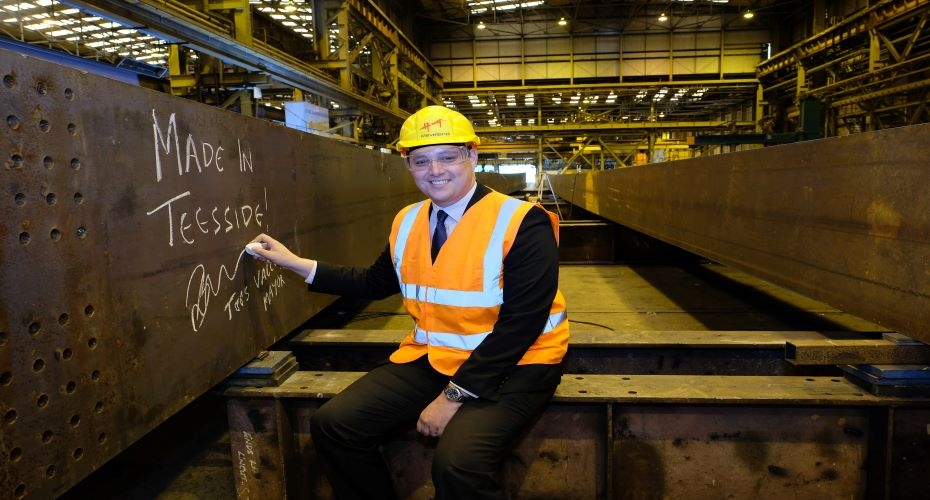 Mayor 'signs off' new bridge to promote Tees Valley manufacturing