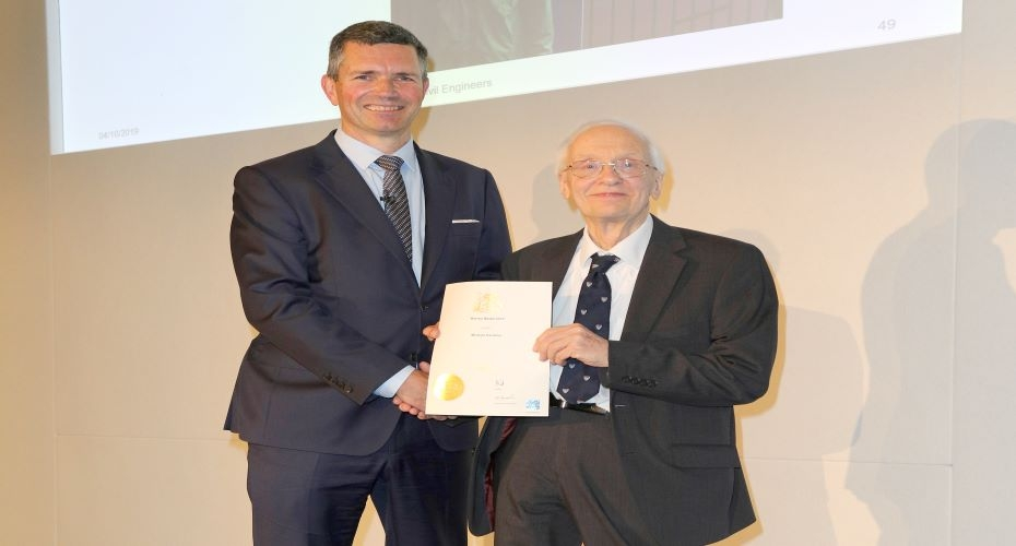 Sunderland engineer recognised for 56 year service