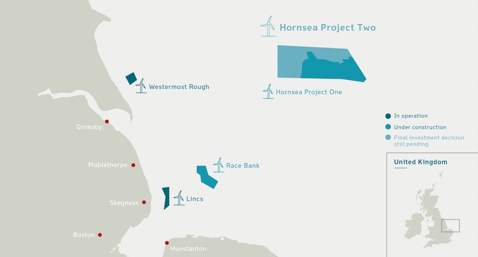 Planning Green Light for Honsea Project Two Wind Farm