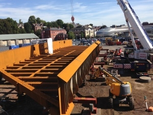 New bridge supports electrification of Great Western Main Line