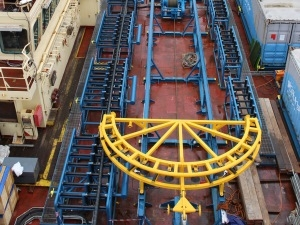 High performance wind farm cable handling delivered by Osbit