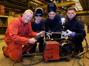 Cleveland Bridge increase apprenticeship numbers thanks to former SSI Training Manager