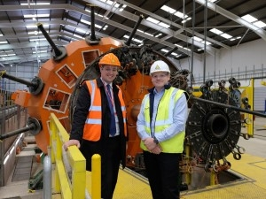 Mayoral visit to Tees Valley cable manufacturer