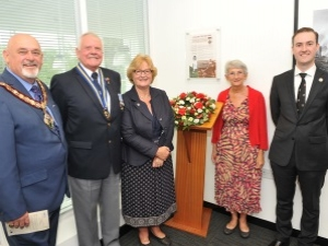 The Materials Processing Institute Commemorates Great War Veteran