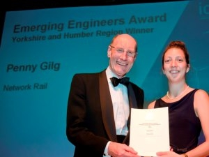 Penny wins Engineering Award for Leeds Station